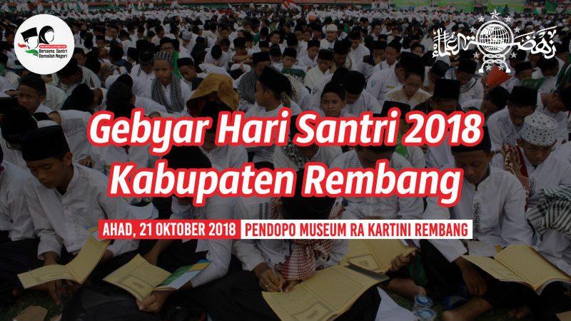 Gebyar Hari Santri Nasional Kabupaten Rembang 2018