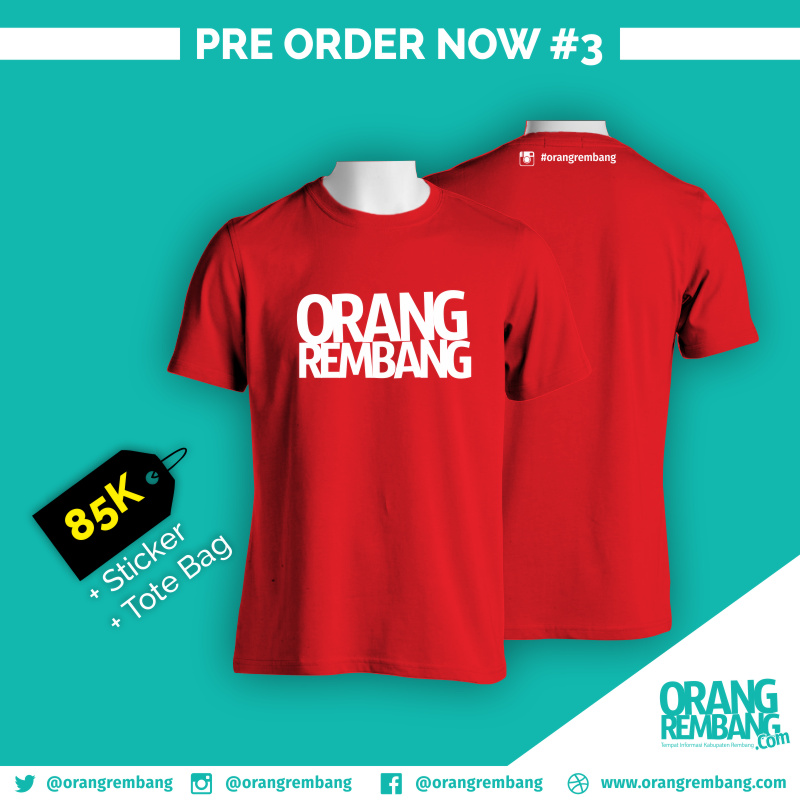 Kaos Orang Rembang #3